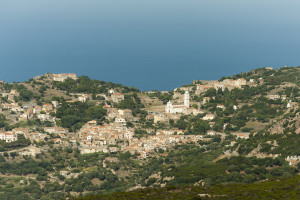 06_Blick auf Pigna Korsika